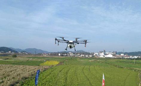 靖州县举办超低空遥控飞行植保机操作技术培训会
