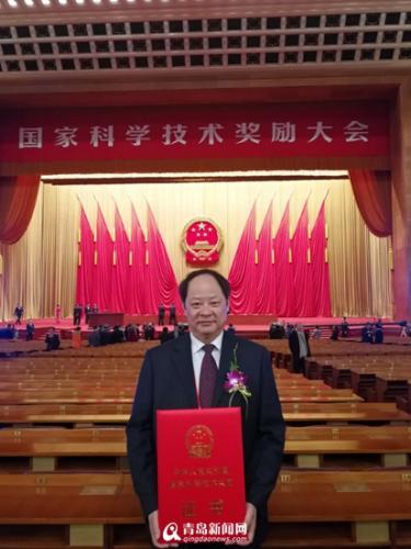青农大教授造出新型收割机 获国家科技进步奖