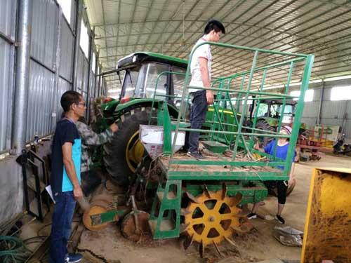 广西扶绥县开展甘蔗种植机质量调查