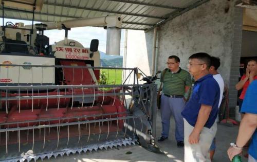 贵州铜仁农机中心督导检查碧江区上半年农机化工作完成情况
