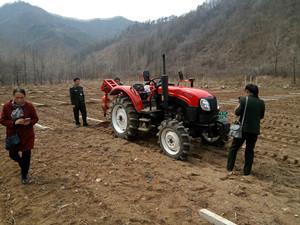 探索引进先进农业机械 集安市促农业增产农民增收