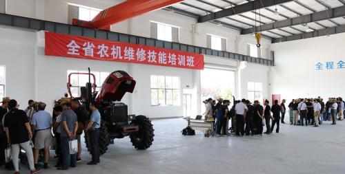 江苏全省农机维修技能培训班在太仓举办