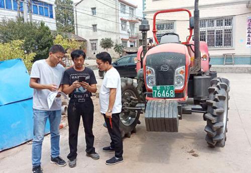 洪湖启用农机购置补贴阳光政务网上申报系统