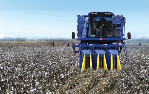 采棉机2.0时代 北疆机采棉种植面积达80%以上