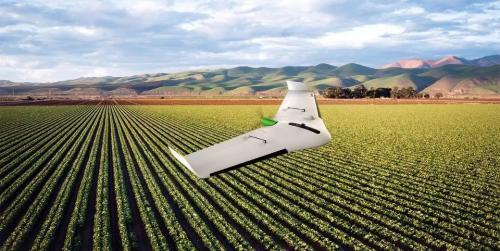 德莱尔推出用于农业测量的固定翼无人机