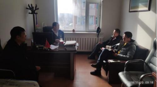 通化市二道江区农机管理总站到农安县调研秸秆综合利用工作