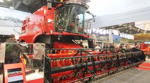 第43届意大利农机展必看的6款顶级联合收割机