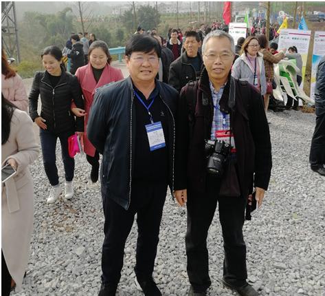 淄博农机研究所组织参加南方丘陵山区果茶桑麻机械化大会