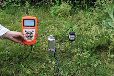 土壤温湿度测试仪操作使用