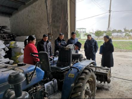 浦东新区开展冬季农机安全生产大检查工作