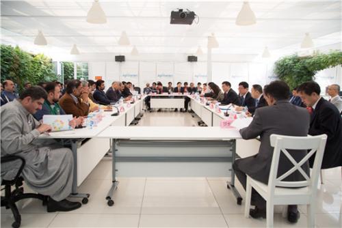 巴基斯坦代表团访问中国农科院