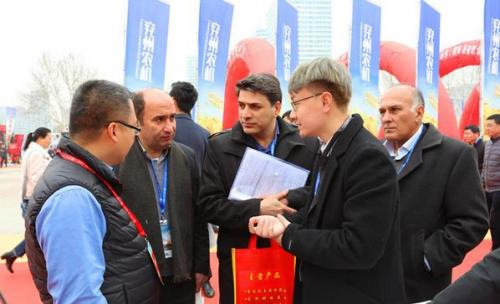 第14届山东农机展在济南开幕