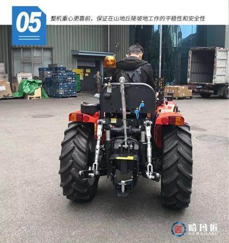 七大核心功能 一款标准化果园必备的高性能拖拉机