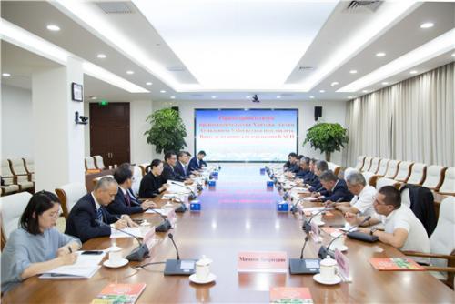 乌兹别克斯坦农业代表团访问中国农科院