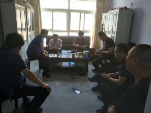 灵宝市领导张少波到农机局帮扶村督导脱贫攻坚工作