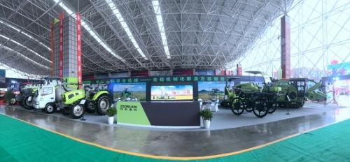 中联重科闪耀第八届中南农机展