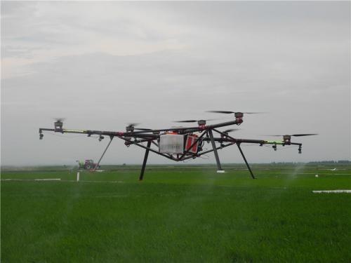 一架植保无人机的工作效率相当于60个劳动力