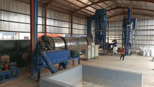 发酵豆粕脱水烘干技术结构分析