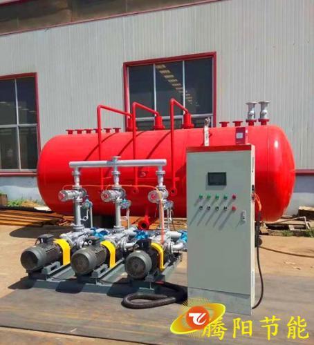 卧式冷凝水回收装置