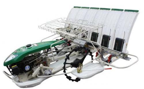 水稻插秧机的工作过程和原理