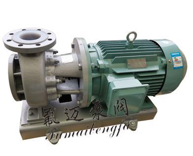 氟塑料离心泵选用参数说明