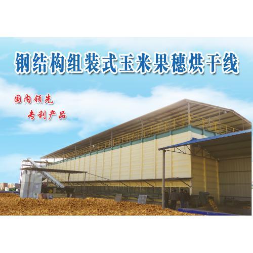 钢构玉米果穗烘干设备