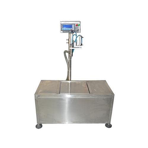 单头电子称重式灌装机