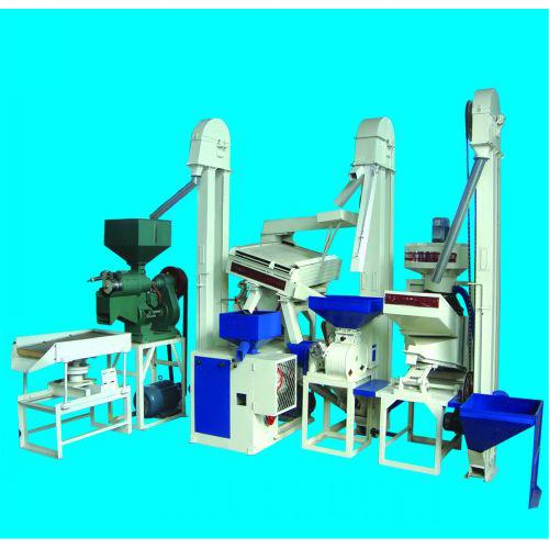专利环保型免淘小米碾米机成套设备