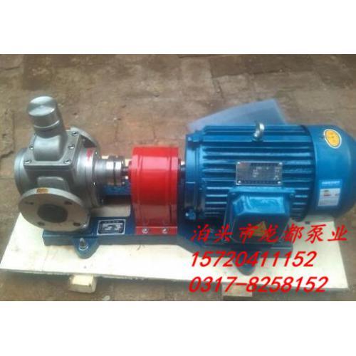 机械密封圆弧齿轮泵 填料密封泵