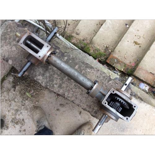 厂家直销农机微耕机旋耕机配件前涡后齿传动箱可来图定制