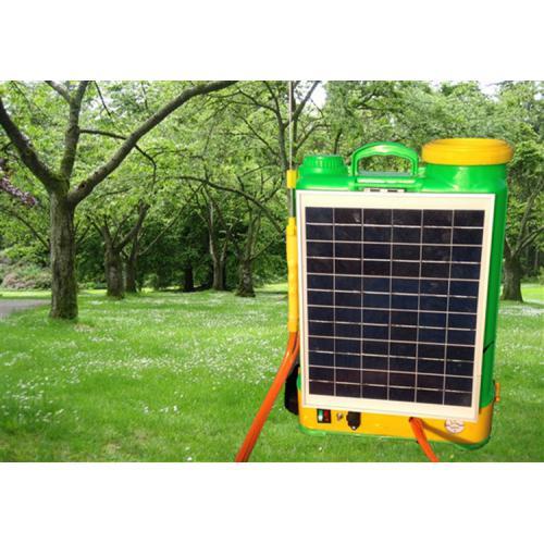 太阳能锂电池电动喷雾器