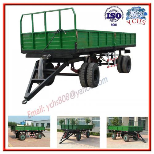 双轴农业拖车