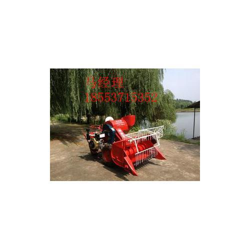 小型胶轮小麦水稻联合收割机