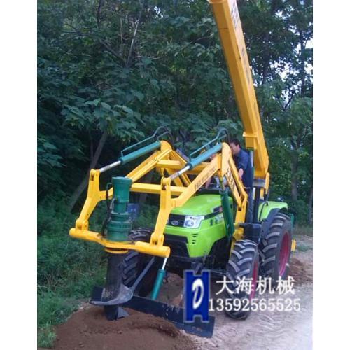 便携式植树挖坑机结构与特点
