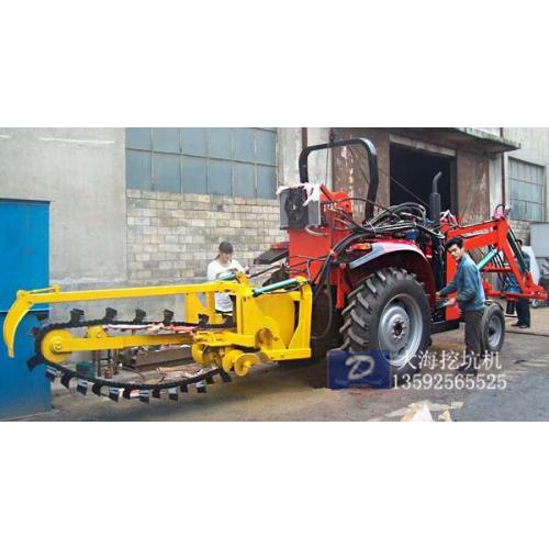 果园挖坑机的调整与维护/开沟机