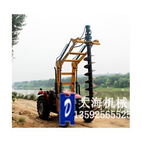 苏州植树挖坑机在园林种植行业畅销