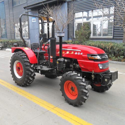 常力804轮式拖拉机 80马力农用轮式拖拉机