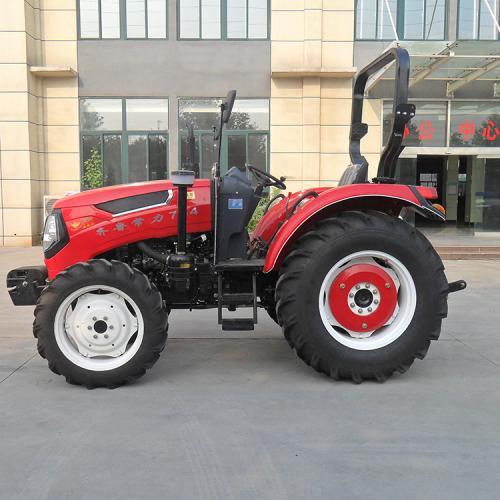 常力754四驱轮式拖拉机 新式农用轮式拖拉机