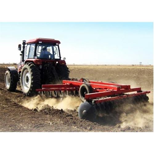 拖拉机带的重型圆盘耙 16片圆盘液压牵引重耙  耕地碎土耙