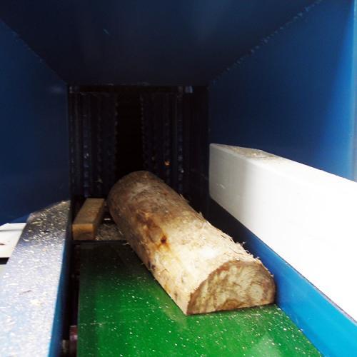 木材粉碎机 园林树枝粉碎机 食用菌木屑机图