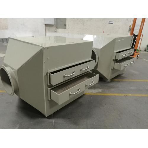 活性炭吸附箱处理微污染物质等的措施