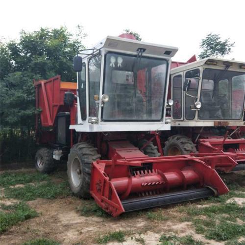 厂家直销高效率玉米秸秆青贮机 大型秸秆粉碎收割机