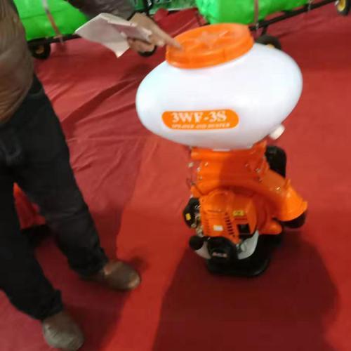 背负式喷药机 多功能喷药喷粉化肥种子机