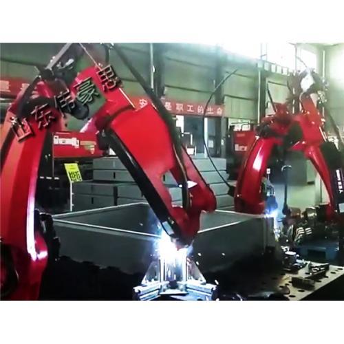 全自动点焊机械手 拖拉机零部件弧焊机器人