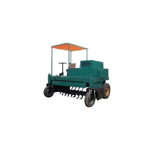 鸡粪翻堆机,有机肥厂用翻堆机,大中型翻抛机