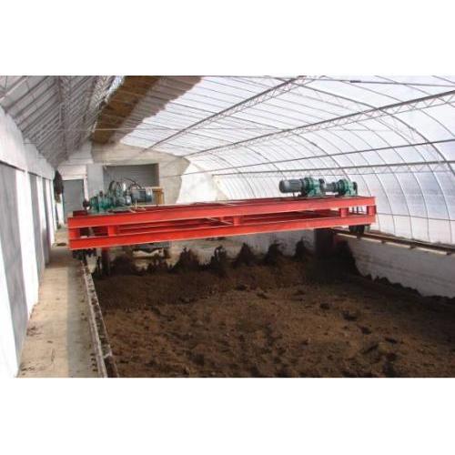 有机肥成套设备翻抛设备发酵设备