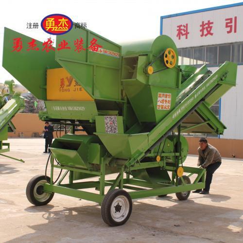 花生摘果机 大型高效收货机械花生摘果机定制 选勇杰装备