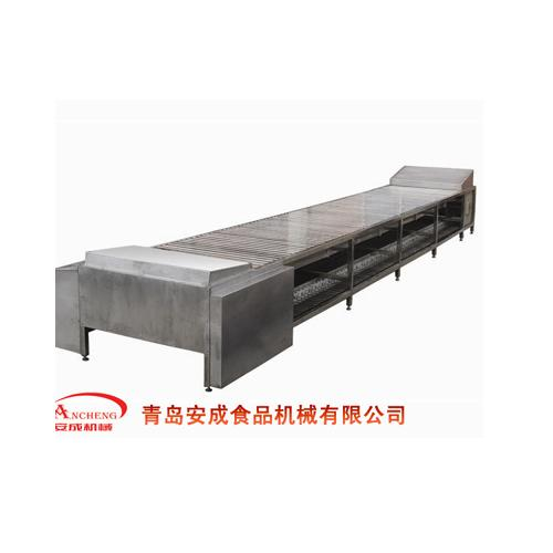猪线屠宰设备,屠宰机械-卧式平板放血输送机