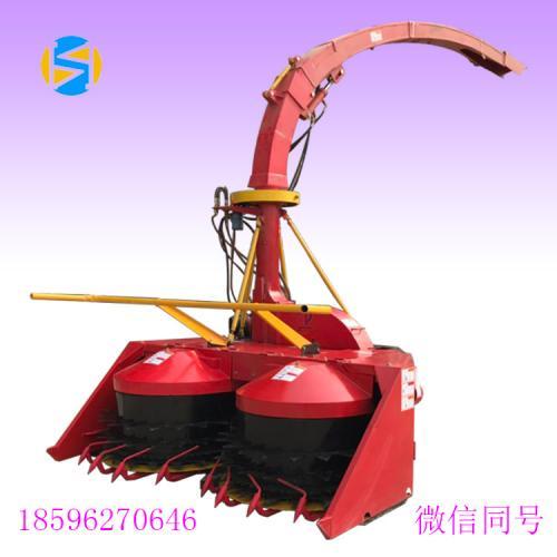 新型悬挂式巨菌草青贮机圆盘式甜象草青储机