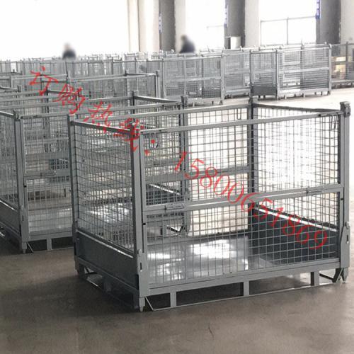 农机厂金属零件周转储存铁箱